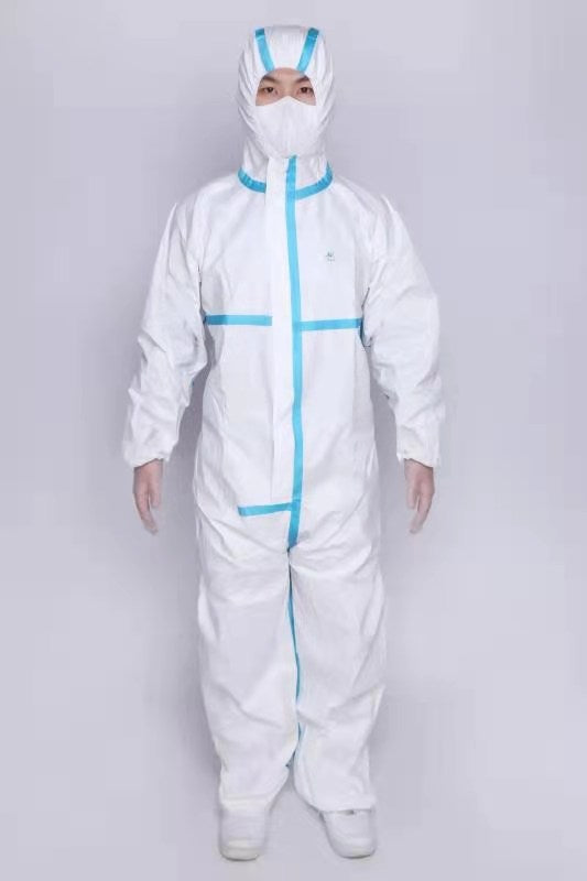 DISPOSABLE MEDICAL PROTECTIVE COVERALLS Gown