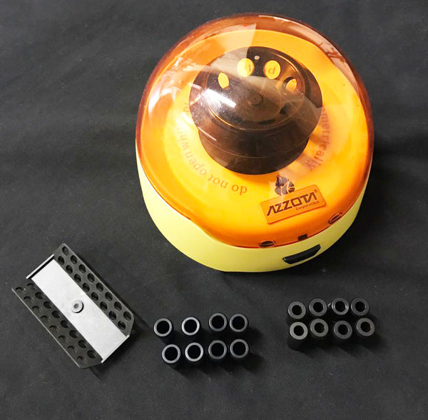 Mini Centrifuge 6000rpn (6K) comes with two microtubes rotor
