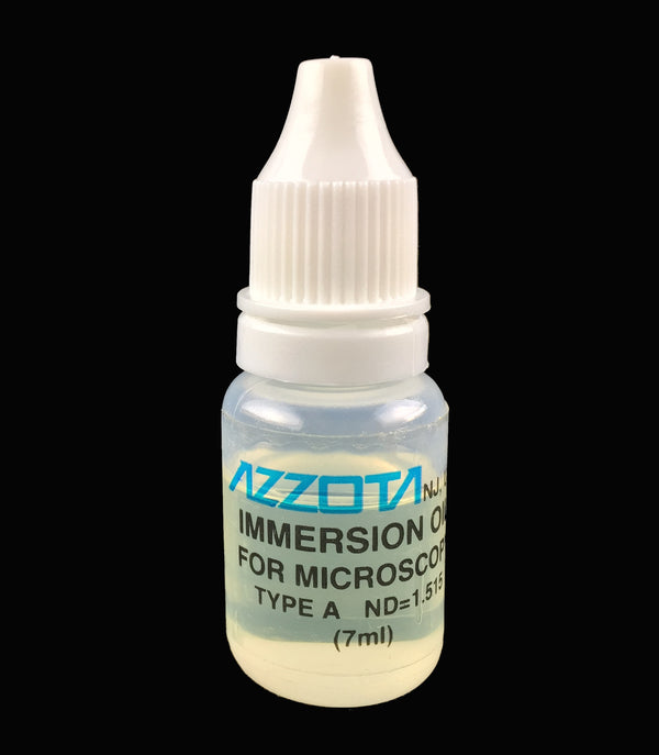 Microscope Immersion Oil for any microscope