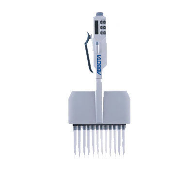 Azzota® Electronic Twelve Channel Pipetter (Adjustable)