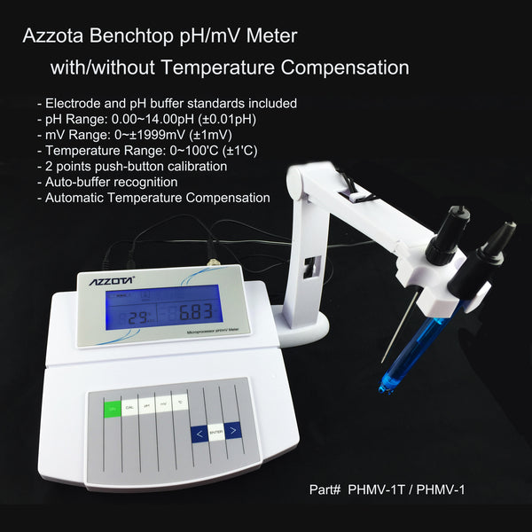Benchtop pH/mV Meter, Advanced