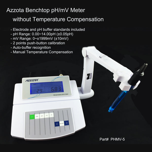 Benchtop pH/mV Meter, Economic
