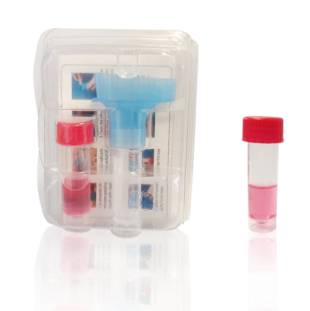 Disposable Saliva Collection Kit with ITM (Inactivation Transport Medium)