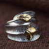 Image of butterfly feather retro ring by Sugar Cola