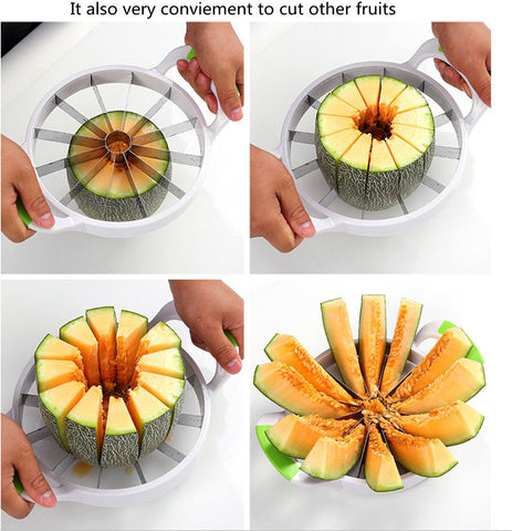 Watermelon Slicer used for slicing Paw Paw