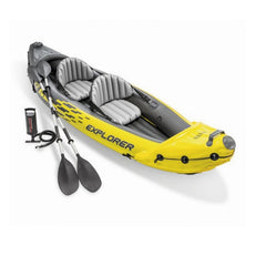 Inflatable Double Paddle Fishing Kayak