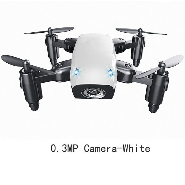 Foldable Mini Drone With HD 0.3mp Camera wifi