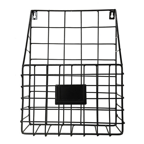 Wall-mounted Grid Hanging Rack