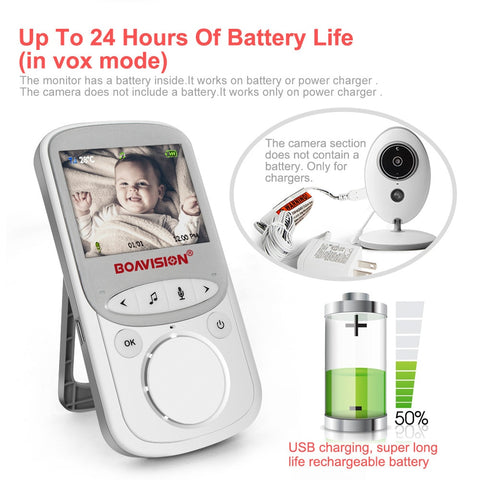 Baby Monitor | 2.4 INCH COLOR SECURITY CAMERA