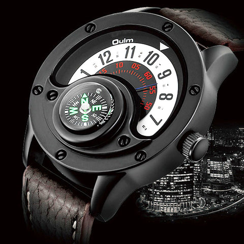 Creative Compass Men Watch