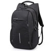 Image of Black anti theft backpack