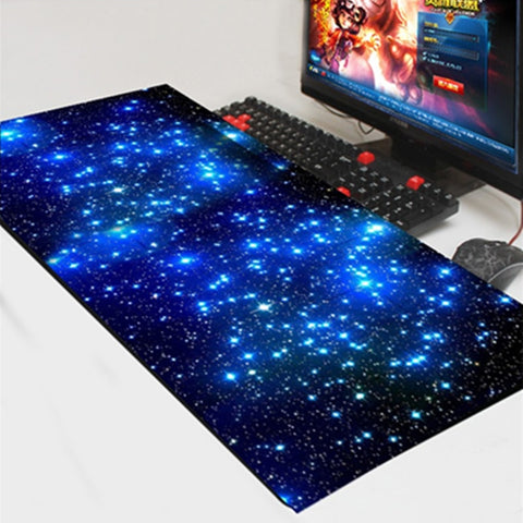 Space Odyssey Large Gaming Mouse Pad