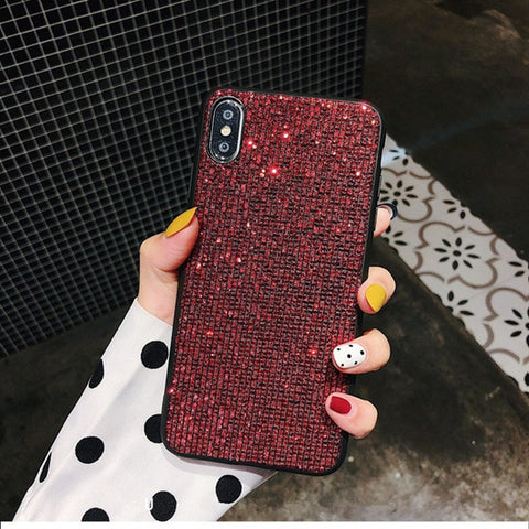 Luxury Bling Sequins Diamond Phone Case