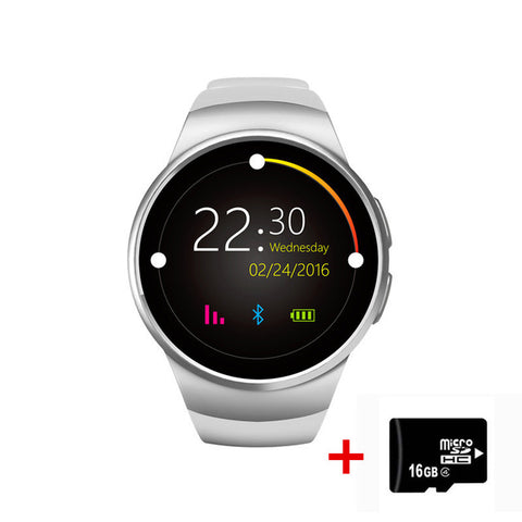 Heart Rate Monitor Bluetooth Smartwatch