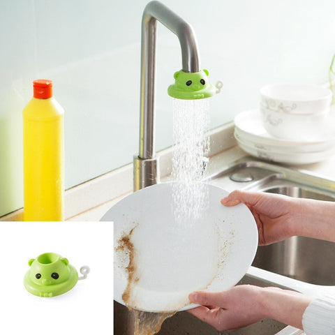 Splash-proof Shower Cleaning Fruit Vegetable Tool