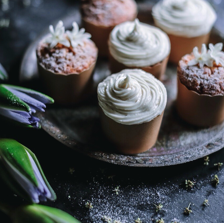 Carrot & Pear Cupcakes