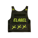 Elabel -Bullet proof vest- ( Neon Green )