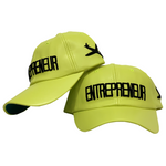 Entrepreneur Label - Original Dad Hat - Neon Green
