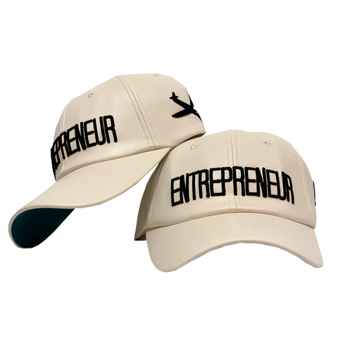 Entrepreneur Label - Original Dad Hat - Off White (Color)