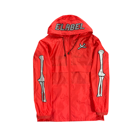 Entrepreneur Label - Wind Breaker - Red