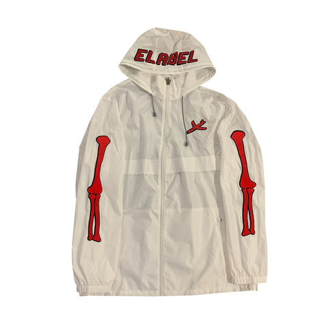 Entrepreneur Label - Wind Breaker - White