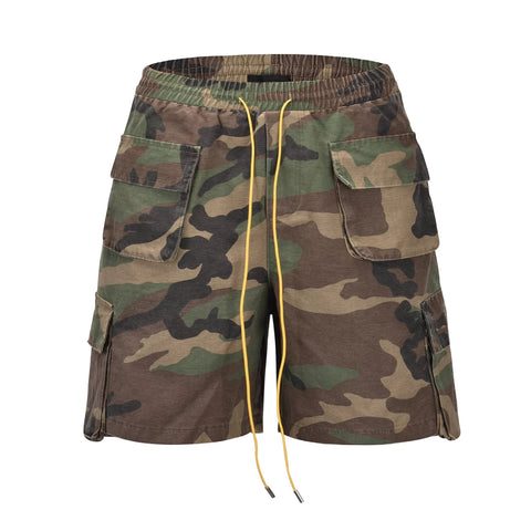 Entrepreneur Label - Cargo Shorts - Camo
