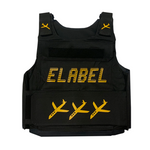 Elabel -Bullet proof vest - ( Yellow )