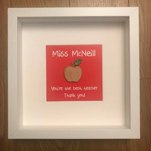 Teacher gift - Apple