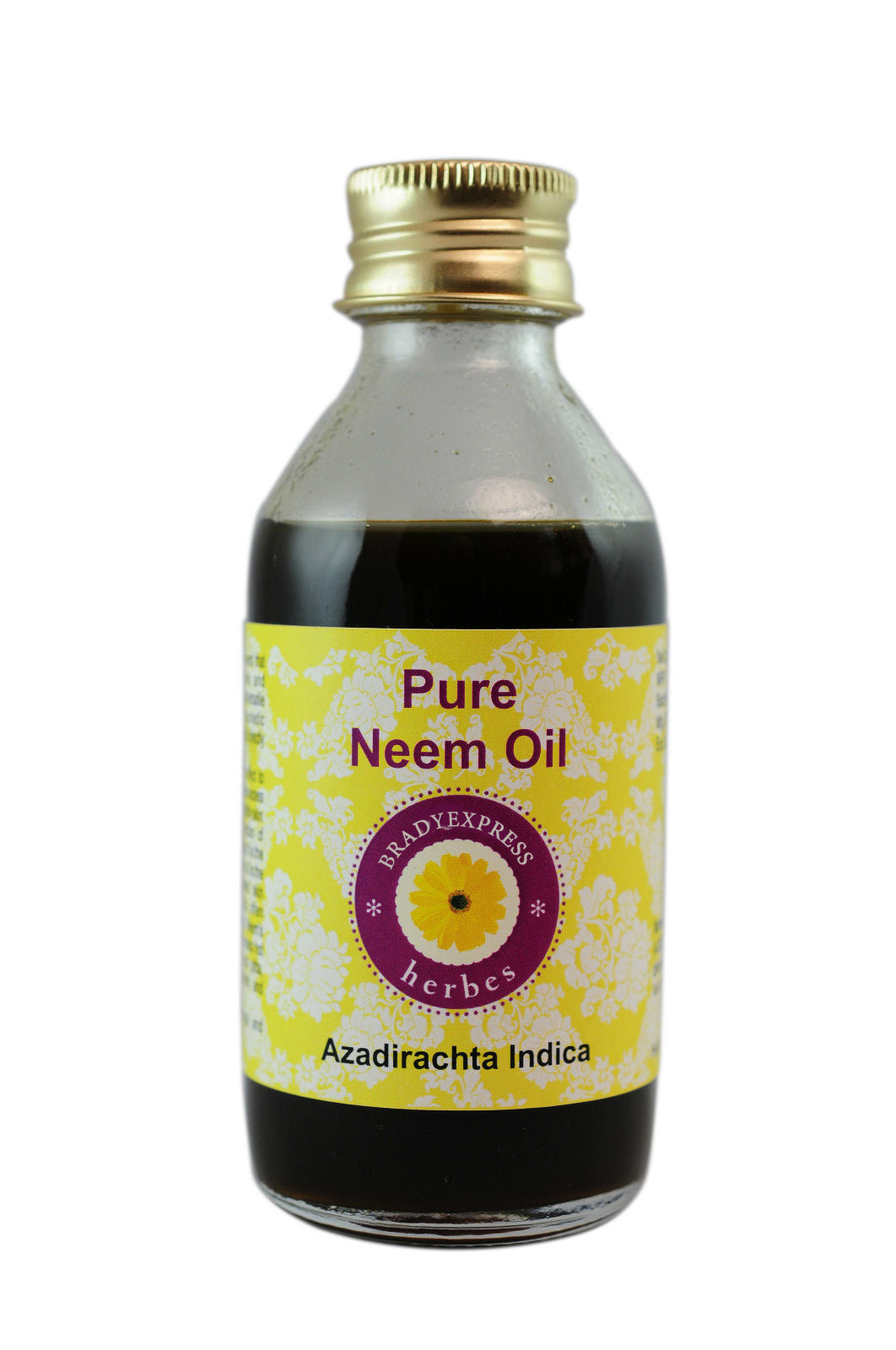 Pure Neem Oil 100% Natural Cold Pressed