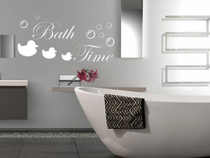 Bathroom Wall Vinyl - Bath Time