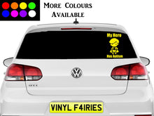 Load image into Gallery viewer, Autism Hero Car Vinyl Window sticker