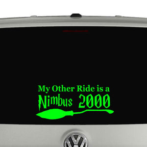 Harry Potter car window vinyl decal sticker