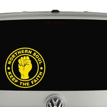 Load image into Gallery viewer, Northern Soul music car window vinyl decal sticker