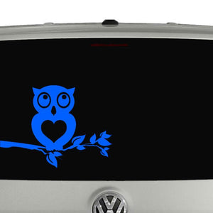 Owl car window vinyl decal sticker