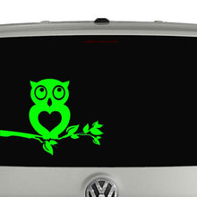 Load image into Gallery viewer, Owl car window vinyl decal sticker