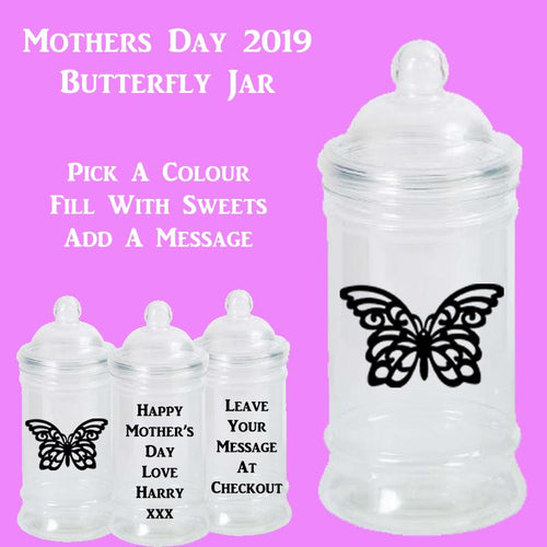 Mother's Day Jar Butterfly