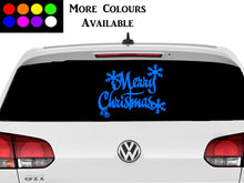 Load image into Gallery viewer, Merry Christmas Car Decoration Sticker
