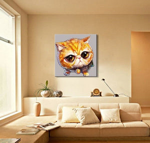 Lovely Animal Wall Art Canvas Oil Painting