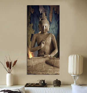 Buddha Wall Art landscape Modern Living room Painting | Spray Painting
