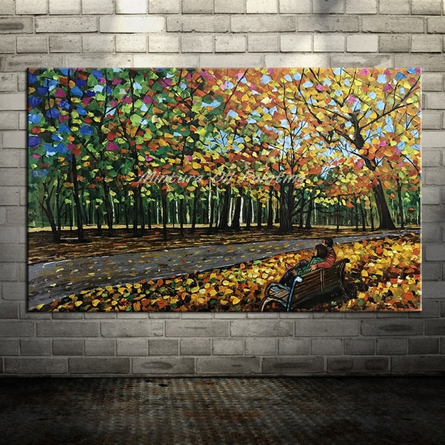 Large hand paintings | Nature Lover