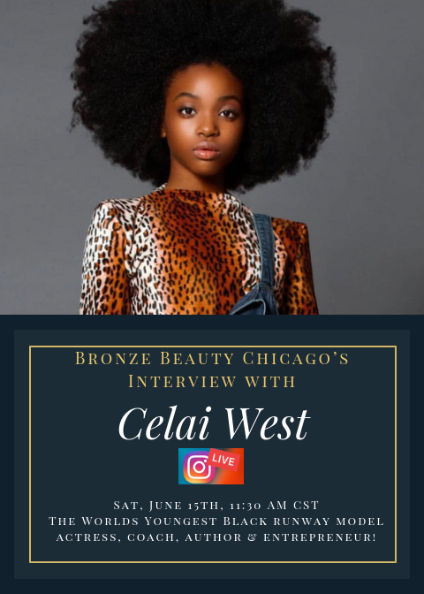 Curls, Coffee & Conversation Interview with Runway Model Celai West