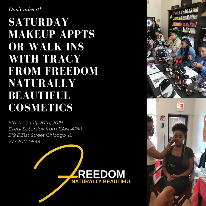 Bronze Beauty Benefit Makeup Master Class with Tracy from Freedom Naturally Beautiful Cosmetics