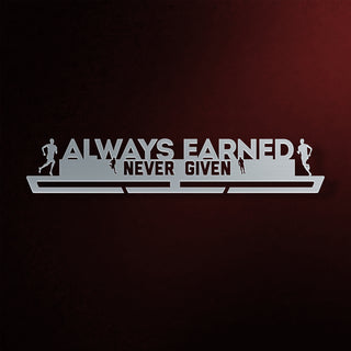 Always Earned Never Given Éremtartó FÉRFI