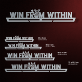 Win From Within Éremtartó-Éremakasztó Victory Hangers®