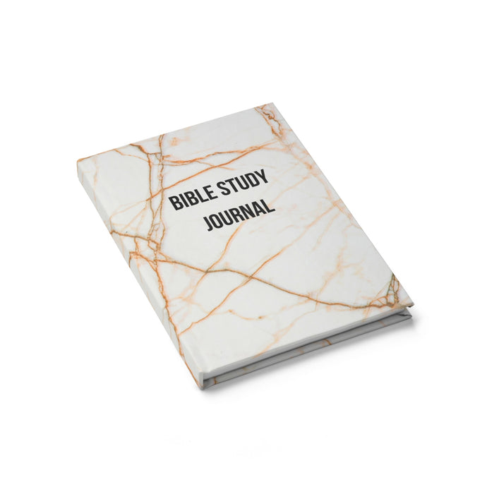 Marbled Bible Study Journal