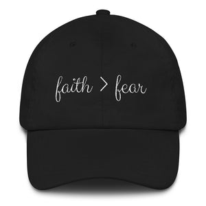 Faith > Fear Hat