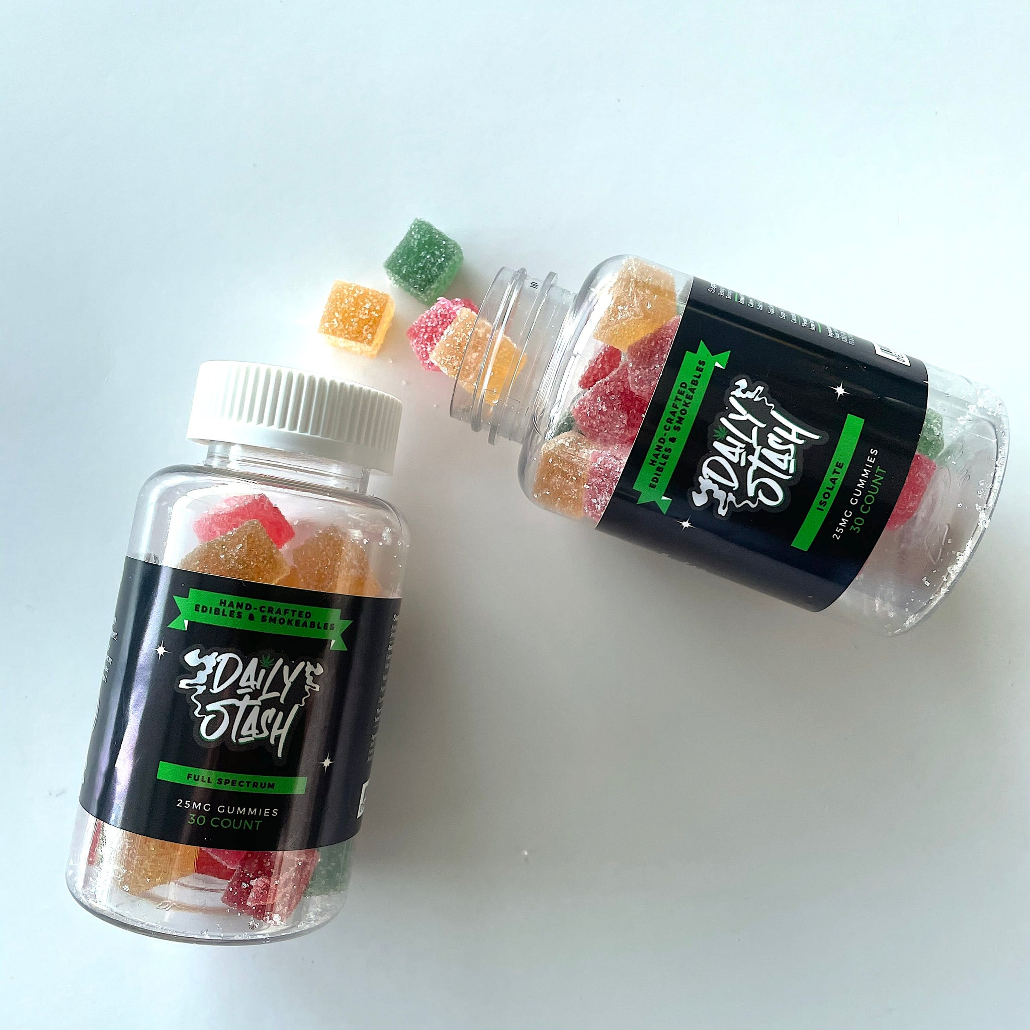 25MG Gummies Isolate or Full Spectrum (30 count)