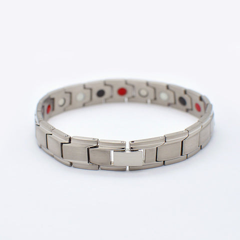 titanium bracelet with magnets