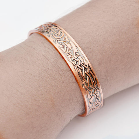 copper bracelet with magnets