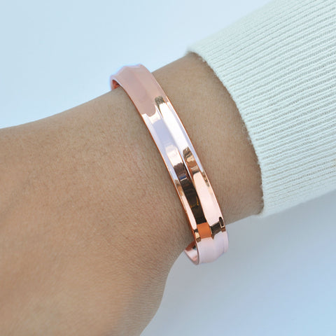 ladies copper bracelet